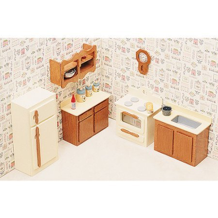 Dollhouse Furniture Kit-Kitchen for Girls 7 Years and Up (Barbie Basics Accesory Pack compare prices)