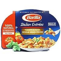 Barilla Italian Entrees,  Tomato & Basil Whole Grain Penne, 9 Ounce (Pack of 6)