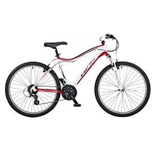 CBR Cutlass Men's Bike - White, 26 Inch