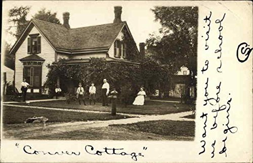 Conver Cottage Elmwood, Illinois Original Vintage Postcard postcard christmas post card postcards gift chinese famous cities beautiful landscape greeting cards ansichtkaarten suzhou city