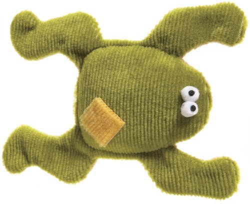 West Paw Design Floppy Frog Squeak Toy for Dogs, Kiwi