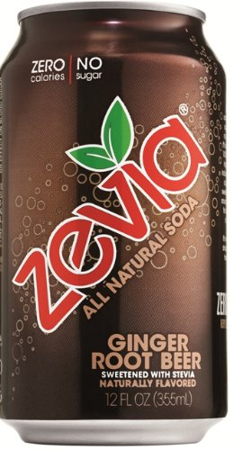 Zevia Natural Ginger Frustration Package
