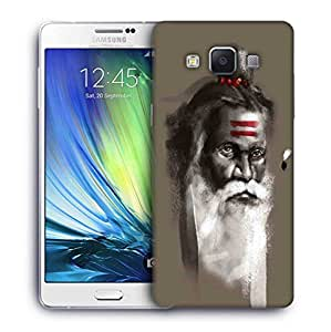 Snoogg saadhu grey 2782 Designer Protective Back Case Cover For Samsung Galaxy A7