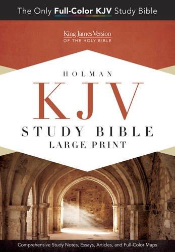 Study Bible-KJV-Large Print