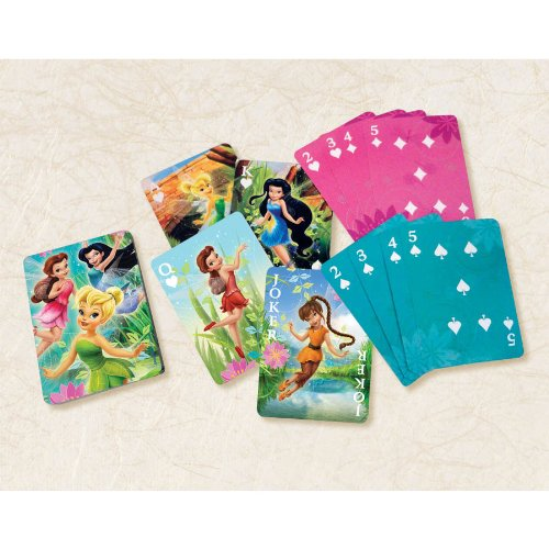 playing cards fairies