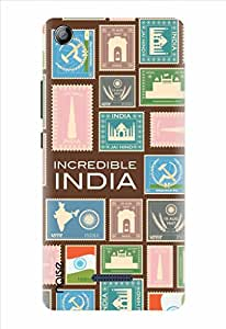 Noise Philately Printed Cover for Micromax Canvas 5 E481