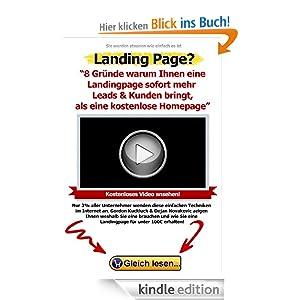 8 Gründe, warum Ihnen eine Landingpage sofort mehr Leads & Kunden bringt, als eine kostenlose Homepage