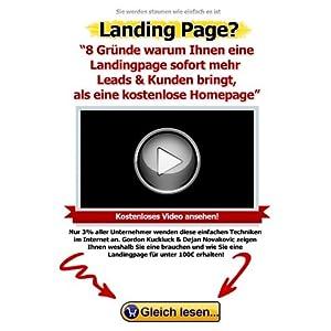 8 Gründe, warum Ihnen eine Landingpage sofort mehr Leads & Kunden bringt, als eine kosten