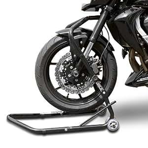 Béquille moto avant sous colonne de direction ConStands Vario pour Honda NC 700 S/ X, NTV 650 Revere, Varadero XL 1000 V