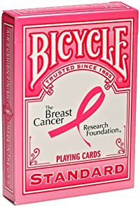 Bicycle Breast Cancer Research Foundation Playing Cards