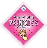 Mummys Little Princess On Board Car Sign Mummys Princess Sign Princess Car Sign Sign Baby on Board Sign baby on Board Decal Bumper Sticker Baby Car Sign Princess Car Sign