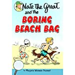 Nate the Great and the Boring Beach Bag (       UNABRIDGED) by Marjorie Weinman Sharmat Narrated by John Lavelle