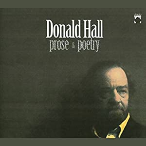 Donald Hall Audiobook