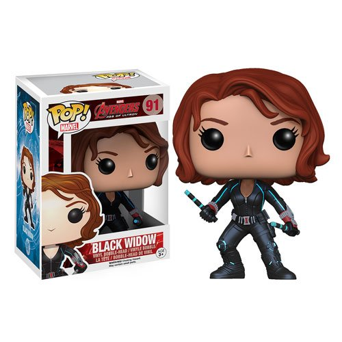 Avengers Age of Ultron Black Widow Pop! Vinyl Bobble Head Figure - 1