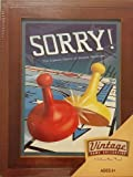 Vintage Game Collection Sorry! Library Game Set
