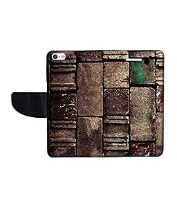 KolorEdge Printed Flip Cover For Apple IPhone 5 - Multicolor (43KeMLogo11362IPhone5)