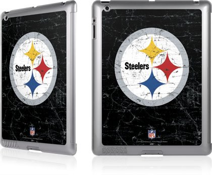 NFL® Pittsburgh Steelers Distressed for LeNu Case for Apple iPad / iPad 2 at SteelerMania