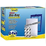 Tetra Whisper Unassembled Bio-Bag Filter Cartridges Size: Large, 12-Pack, Easy-to-maintain aquarium, New!!! (Color: blue)
