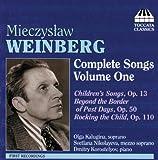 echange, troc  - Weinberg complete songs vol.1