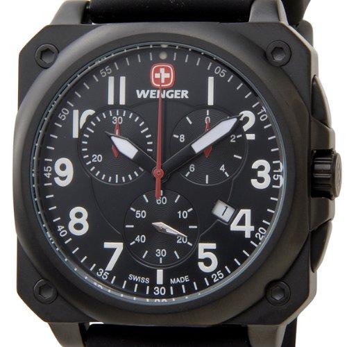 [ウェンガー]WENGER メンズ時計 エアログラフコクピット 77010 (並行輸入品)