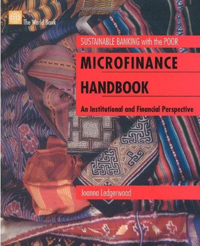 Microfinance Handbook: An Institutional and Financial...