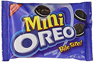 Oreo Mini Cookies Multipack, 1 Ounce, 12 count