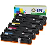 EPS Replacement Toner Cartridge HP 131A for Hp Laserjet Pro M251 M276, 5 Pack (2B + CMY)