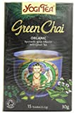 Yogi Tea Green Chai 15 Organic Teabags (Pack of 8, Total 120 Teabags)