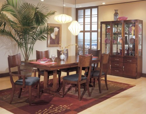 Buy Low Price Standard Furniture Buffet w/ Hutch by Standard Furniture – Cherry Finish (16502R) (16502R)