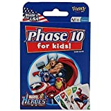 MARVEL HEROES Phase 10 for Kids MADE IN USA [Card Game]