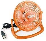 mumbi USB Ventilator - Mini Fan für den Schreibtisch mit