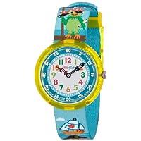 [フリック フラック]FLIK FLAK キッズ腕時計 CUTE-SIZE(キュートサイズ) PARROT OF THE SEAS(パロット・オブ・ザ・シー) FBNP009 ボーイズ 【正規輸入品】