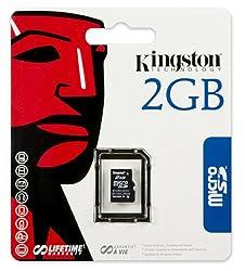 Kingston microSD 2GB Memory Card