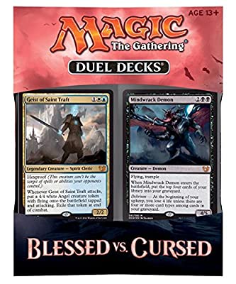 MTG Magic the Gathering - Duel Decks: Blessed vs Cursed - Pre-Order Ships February 26 by Hasbro