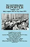 California Chess Reporter 1967-1971 (Volume 7)