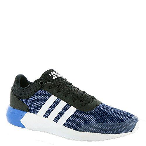 Adidas NEO Men's Cloudfoam Race Running Shoe, Black/White/Satellite, 9 M US