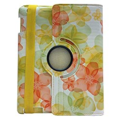 BMS iPad Mini 360 Degree Rotating PU Leather Case Cover Stand (Yellow)