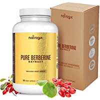 Natrogix Blood Sugar Berberine 90-Capsule Supplement