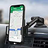 Car Phone Mount, Amoner Car Phone Holder, Dashboard Phone Holder for Car , Washable Strong Sticky Gel Pad Compatible iPhone 11 pro,11 pro max,X,XS,XR,8,7,6 Plus,Galaxy S20,10,9,8,Google Nexus