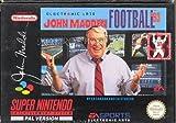 echange, troc John Madden Football 93 - Super Nintendo - PAL