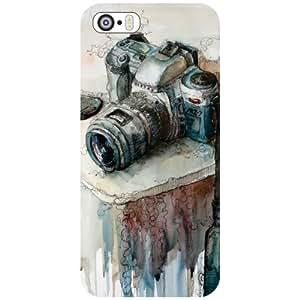 Apple iPhone 5S Back cover - Camera Designer cases