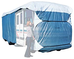 Classic Accessories 70663 Overdrive PolyPro III Deluxe Class A RV Cover, Fits 33' - 37' RVs