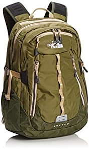 The North Face Surge 2 Backpack (Burnt Olive Green/Military Green)