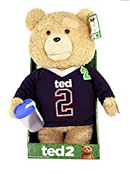 Ted 2 AnimaTeddy Bear Explicit Doll in Jersey, 16