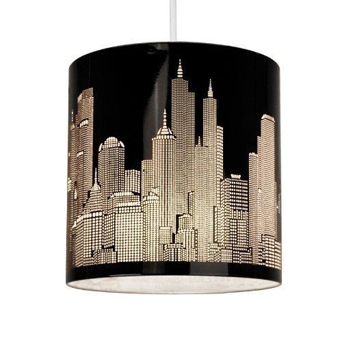 paralume-moderno-e-di-metallo-nero-lucido-con-motivo-del-profilo-di-new-york-per-lampada-a-sospensio