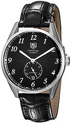TAG Heuer Men's WAS2110.FC6180 Carrera Analog Display Swiss Automatic Black Watch
