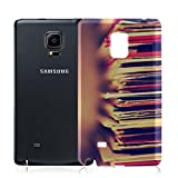 Vintage 018 Vinyl Record Ultrathin Crystal TPU Soft Gel Silicone Case Cover Skin Shell Protector with Colourful Design for Samsung Galaxy Note Edge