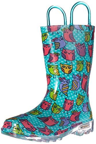 Western-Chief-Kids-Owl-Woods-Light-up-Rain-Boot