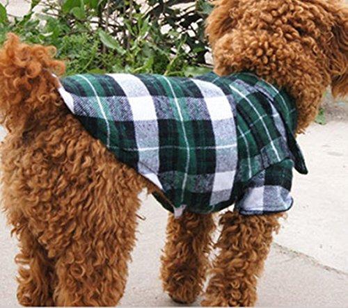 CXB1983TMCute-Pet-Dog-Puppy-Clothes-Shirt-Size-XSSML-Blue-Red-Color