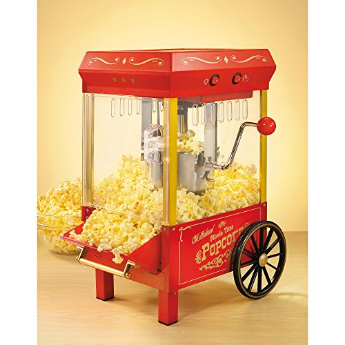 Nostalgia KPM508 Vintage Collection 2.5-Ounce Kettle Popcorn Popper (Old Time Popcorn Popper compare prices)